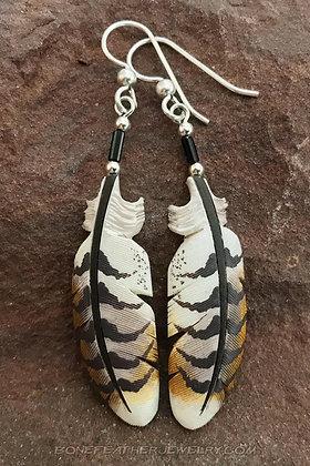 Ferruginous Hawk Secondary Bone Feather Jewelry