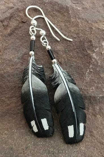 Common Loon Bone Feather Jewelry