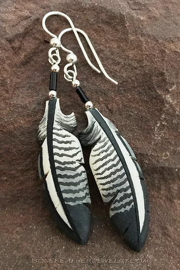 Anhinga Secondary Bone Feather Jewelry