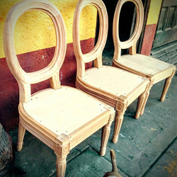 Preparación de sillas