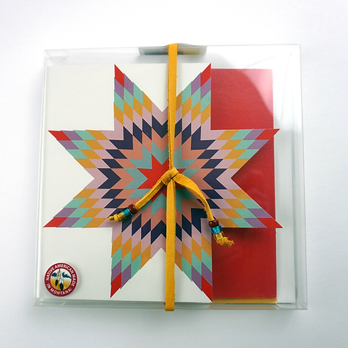 Star Quilt Stationery: 4pk Box Set