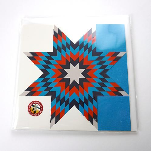 Star Quilt Stationery: 4pk Sleeve Set
