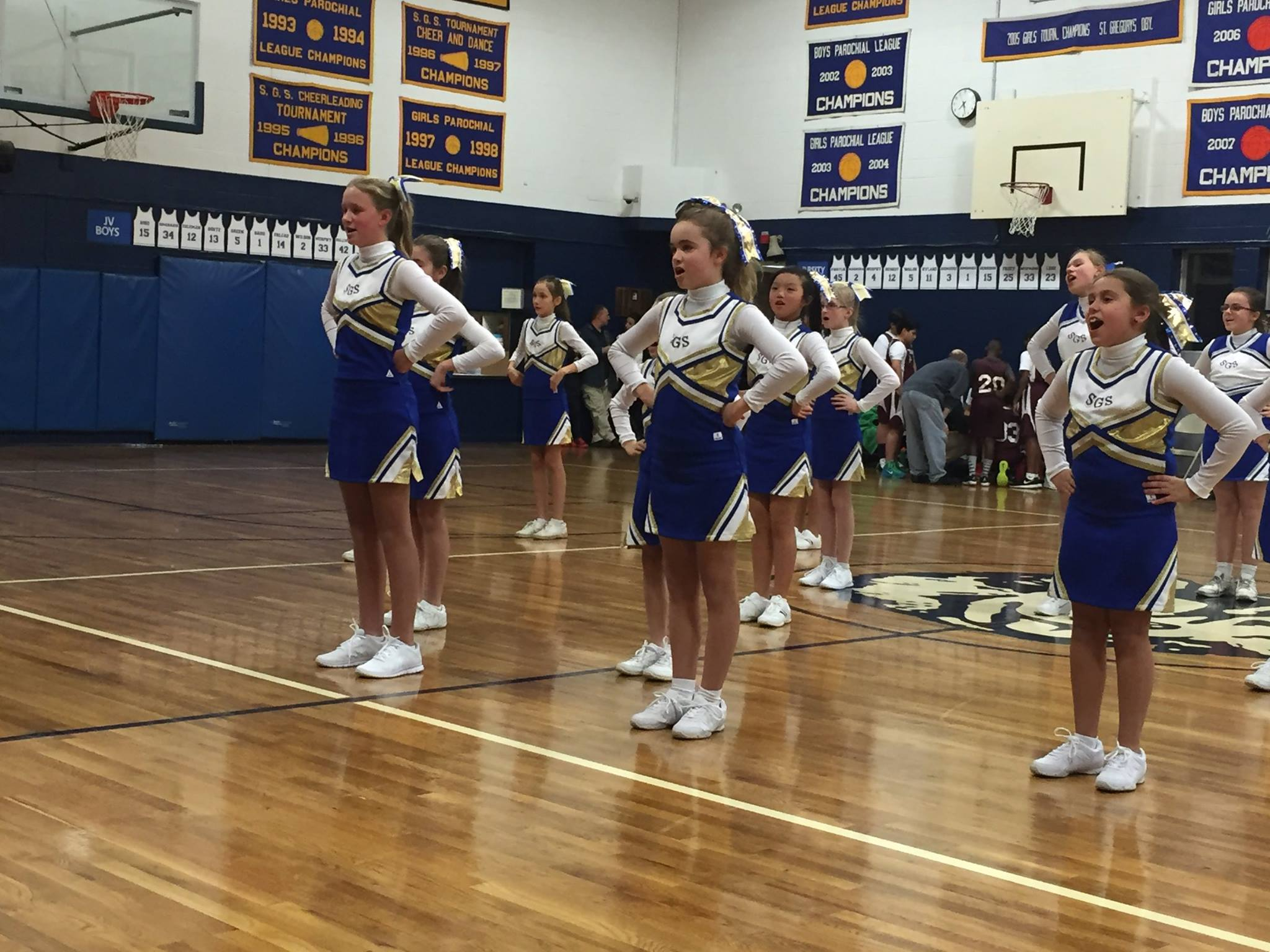 #SGSDanbury Cheerleaders