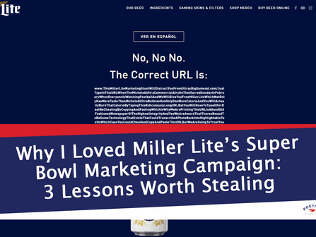 Why I Loved Miller Lite's Super Bowl Marketing Campaign: 3 Lessons Worth Stealing