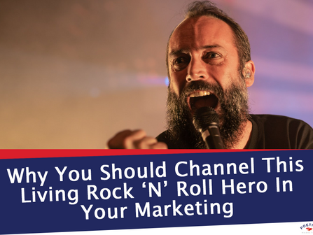 Why You Should Channel This Living Rock 'N' Roll Hero In Your Marketing