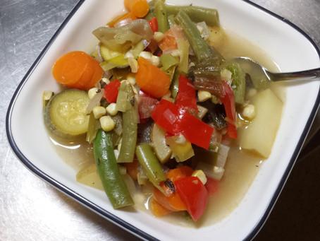 Summer-Harvest Vegetable Soup