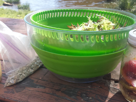 3 step salad – for a picnic!