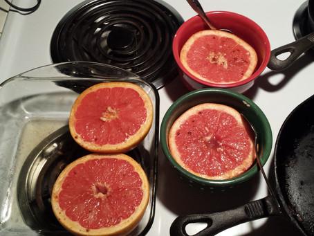 Broiled Grapefruit – Carol McFarland