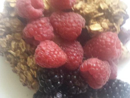 Baked Oatmeal with Berries!