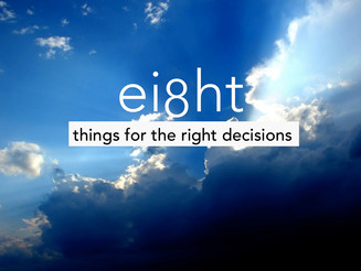 8 things you always knew you needed to make the right decisions