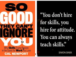 Skills or passion?  It's actually both!