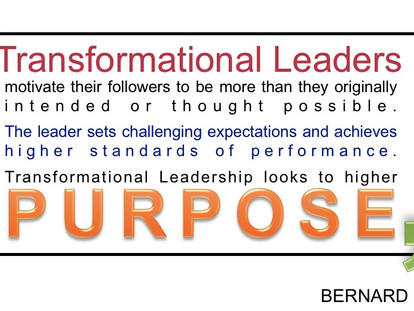 4 Traits To Embrace to be a Transformational Leader