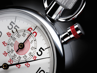 Strategic decisions – a minute early, or a minute late
