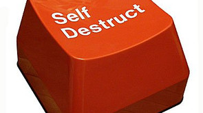 You may be the agent of your own self-destruction