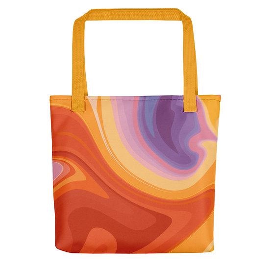 Orange Zest Large Tote bag