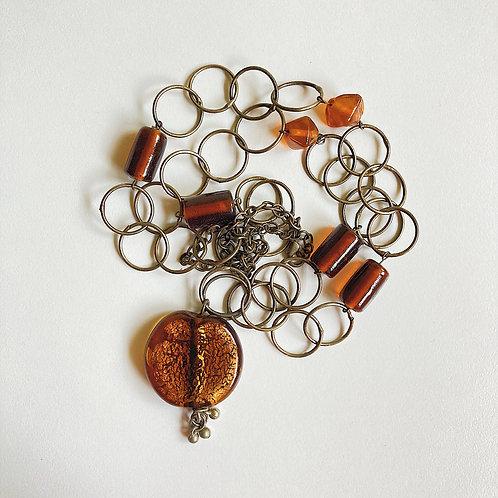 Beaded Bohemian Necklace