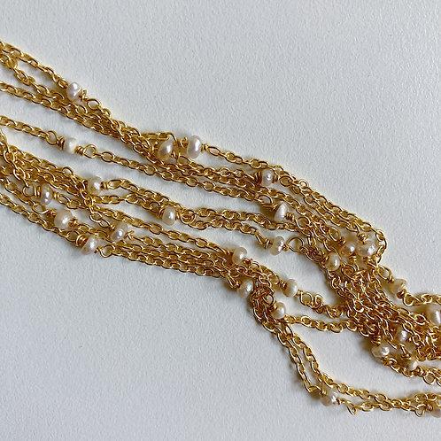 Dainty Baroque Pearl Chains