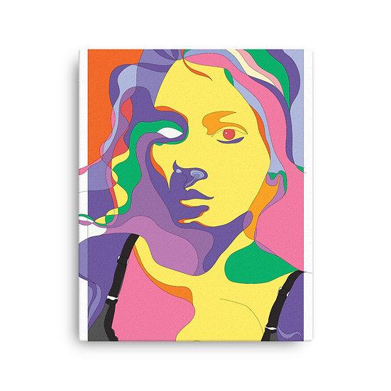 Fluid Self Canvas Print