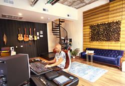 Recording studio in downtown LA