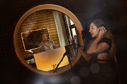 Acoustic vocal booth and live room