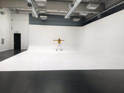 Production studio with Skylight