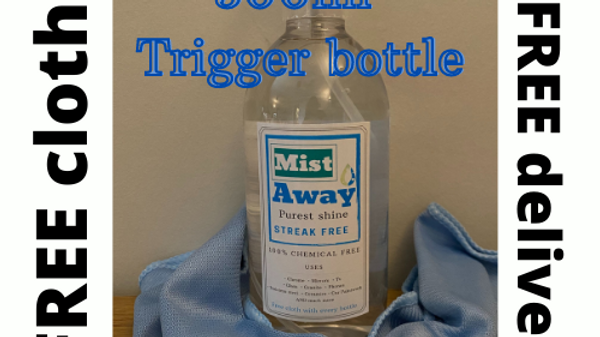Personlised 500ml trigger bottle