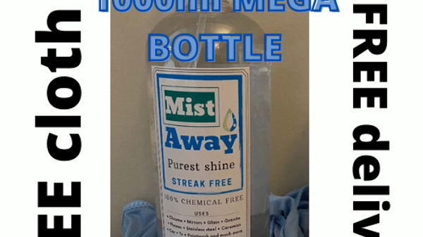 Personalised 1000ml mega bottle