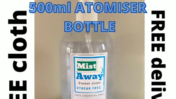 500ml Personalised Atomiser
