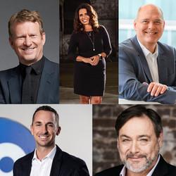Headshots of Meet the Creators guests