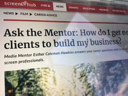 Headline: Ask the Mentor: How do I get new clients to build my business?
