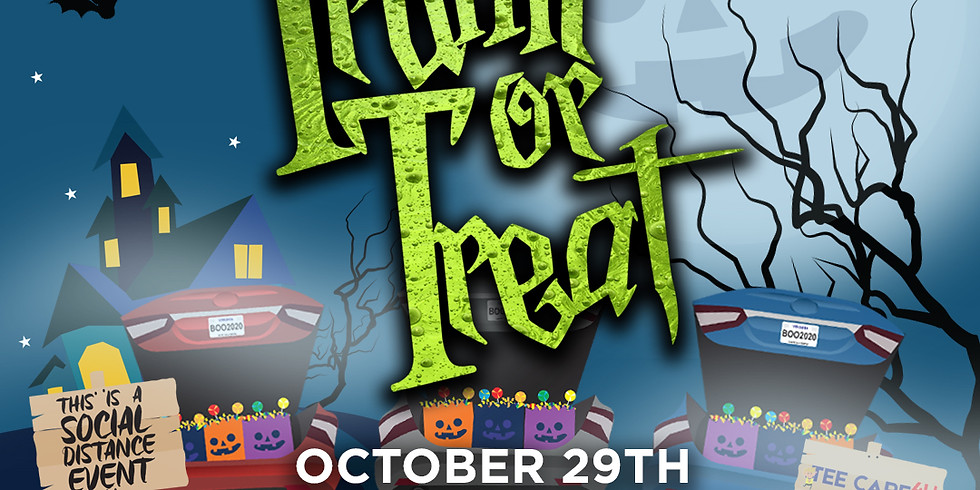 2021 TRUNK OR TREAT SPOOKTACULAR EVENT!