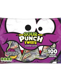 Sour Punch Halloween Twists - 20oz/100ct