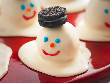 FUN MELTING SNOWMEN COOKIE BALLS