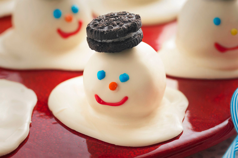 Melting Snowman Cookies - Heaven Sent Child Care Center