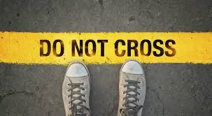 SNEAKERS WITH DO NOT CROSS