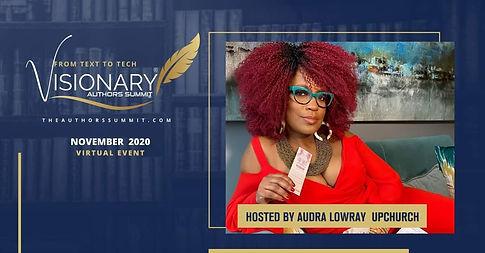 Visionary Authors Summit - Audra Lowray Upchurch