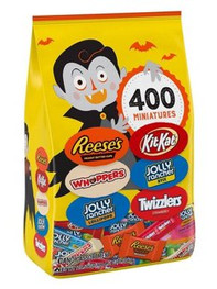 Hershey's Halloween Value Chocolate & Sweets Variety Pack - 116.5oz/400ct