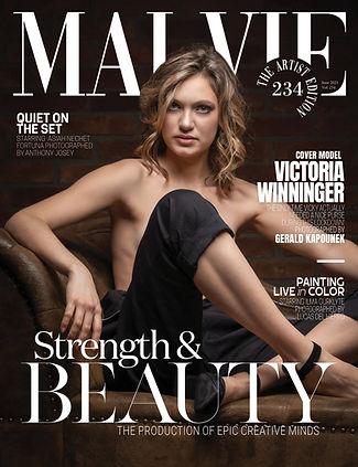 MALVIE Magazine The Artist Edition Vol 234 June 2021 spreads .jpg