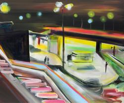 Pennards-Sycz Light will guide you 2 100 x 120 cm acryl