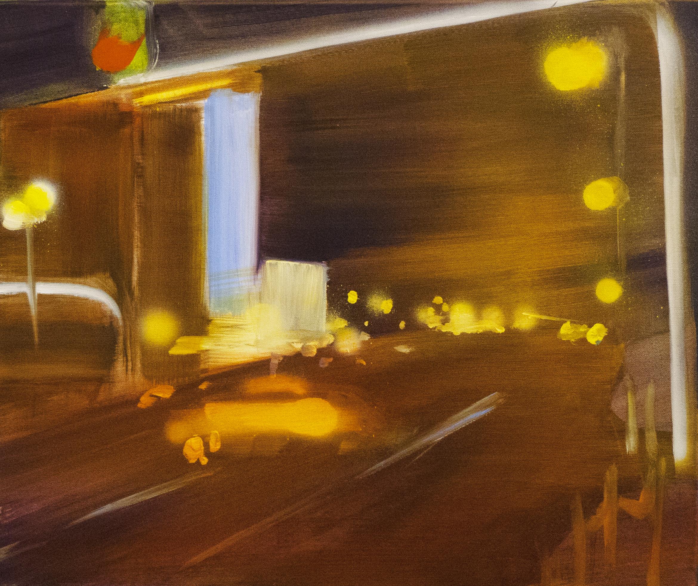 Roman Nights. 50 x 60, 2016