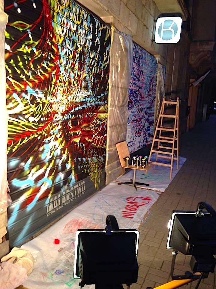 STREET ART LIVE @KURATORIUM