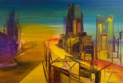Life under Construction, 80 x 120, 2015
