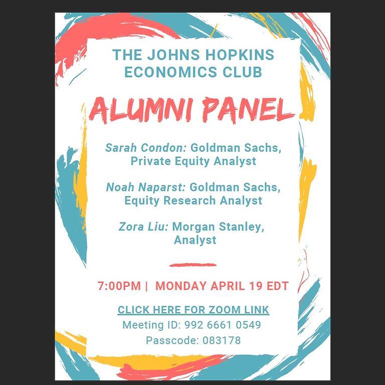 Alumni Panel Event