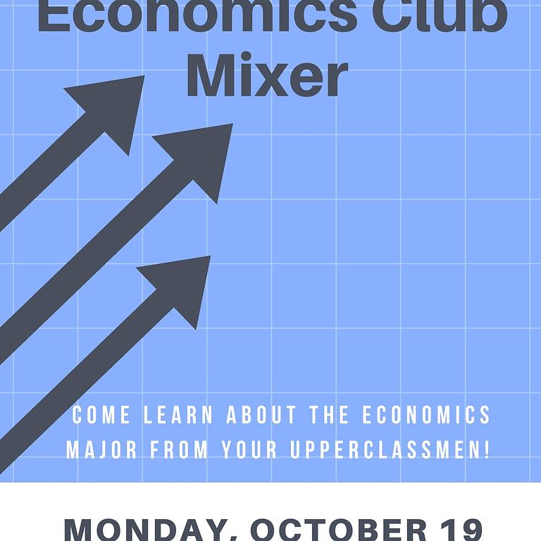 Economics Club Mixer