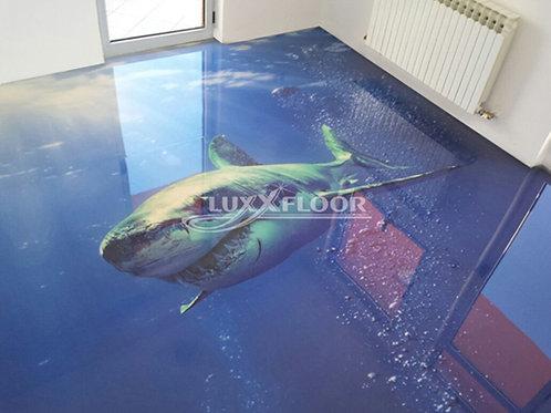 Weißer Hai (Belag) ab