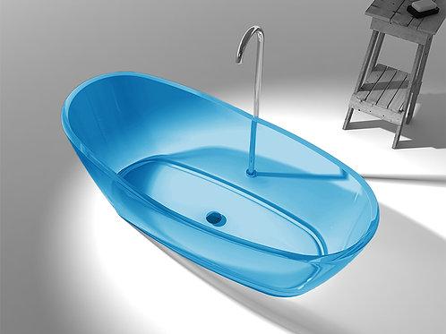 Transparente Badewanne aus Resin LX6563 B3