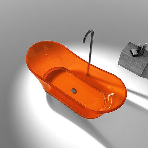 Transparente Badewanne aus Resin LX6520 B4