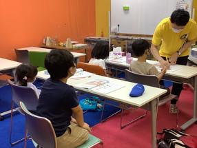 泉中央校、火曜日の10級クラス