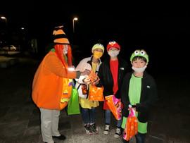 Pumpkin and Friends