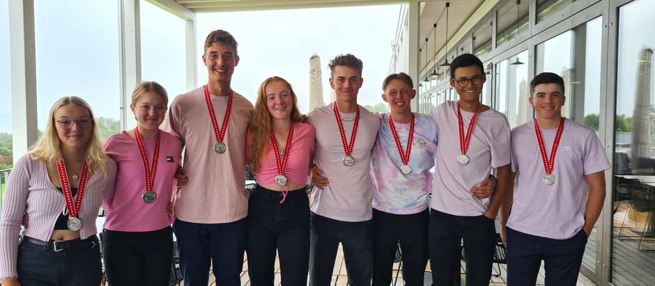 Juniors Interclub Silver Medalists